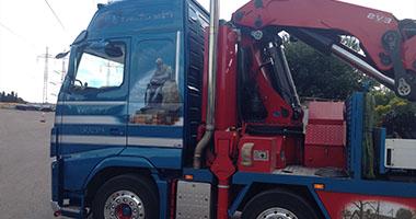 Vognmand i Helsingør Nordsjælland, kranbil i vognpark